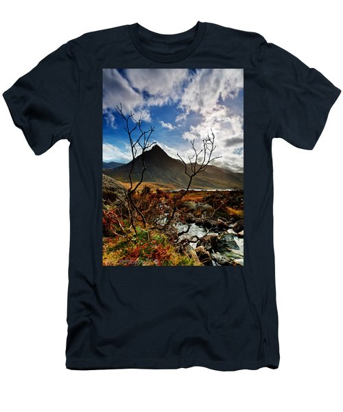 Tryfan And Tree Men's T-Shirt (Athletic Fit)