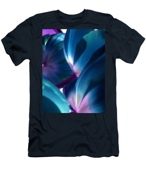 Tulip Blues Men's T-Shirt (Athletic Fit)