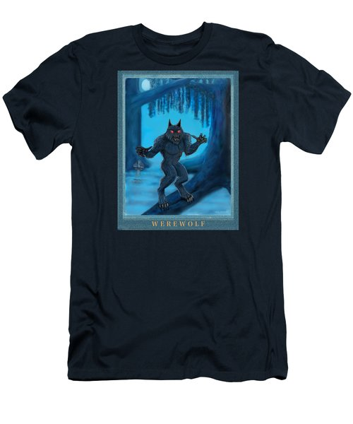 Werewolf Men's T-Shirt (Slim Fit) by Glenn Holbrook