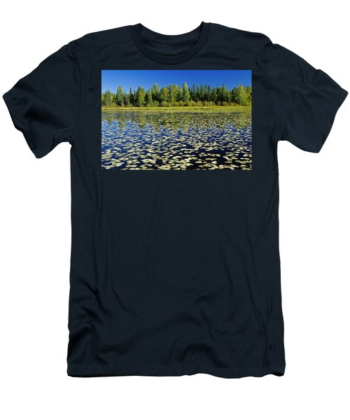 Wetland And Boreal Forest Men's T-Shirt (Athletic Fit)