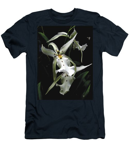 White Orchid Men's T-Shirt (Athletic Fit)