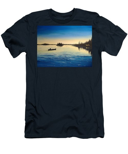 Wilderness Camp Men's T-Shirt (Athletic Fit)