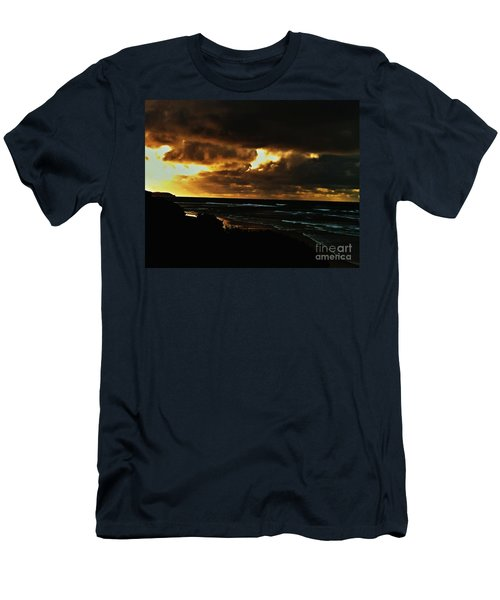 A Stormy Sunrise Men's T-Shirt (Athletic Fit)