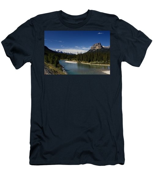 Castle Mountain 1 Men's T-Shirt (Athletic Fit)