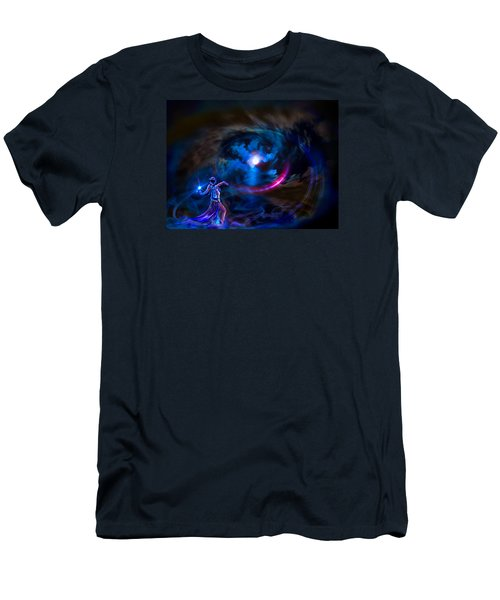 Entrancing The Mystical Moon Men's T-Shirt (Athletic Fit)