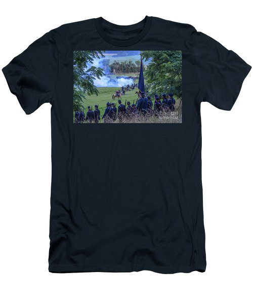 Gettysburg Union Artillery And Infantry 7457c Men's T-Shirt (Athletic Fit)