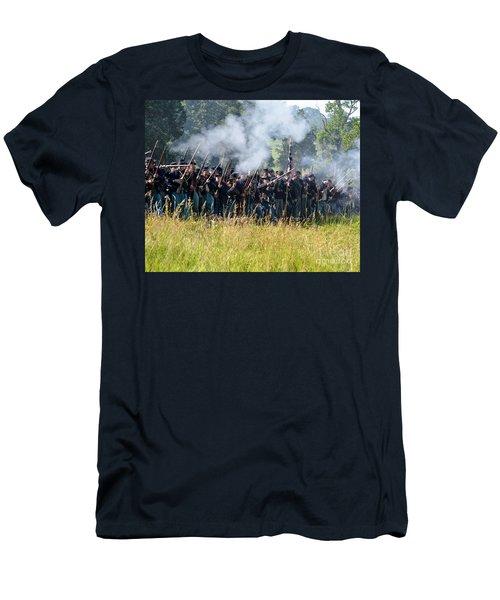 Gettysburg Union Infantry 9360c Men's T-Shirt (Athletic Fit)