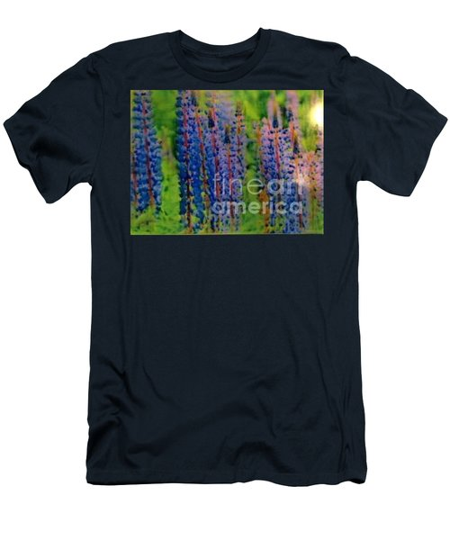 Lois Love Of Lupine Men's T-Shirt (Slim Fit) by FeatherStone Studio Julie A Miller
