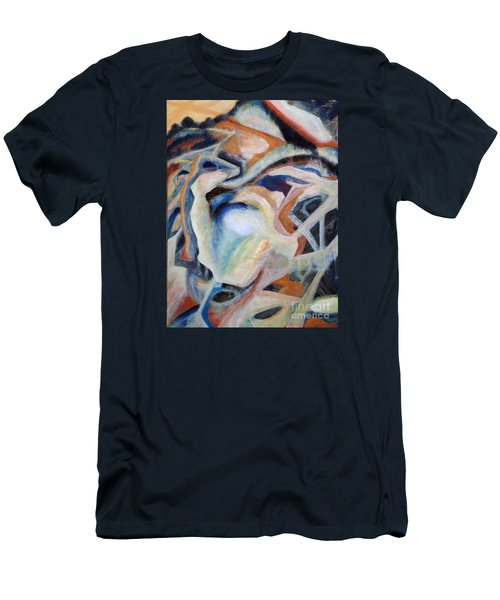 01317 Process Men's T-Shirt (Slim Fit) by AnneKarin Glass