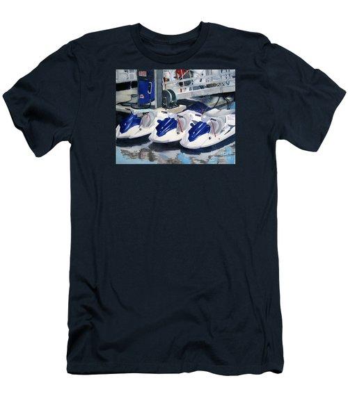 1 2 3 Go Men's T-Shirt (Athletic Fit)
