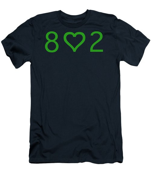 802 Men's T-Shirt (Slim Fit) by George Robinson