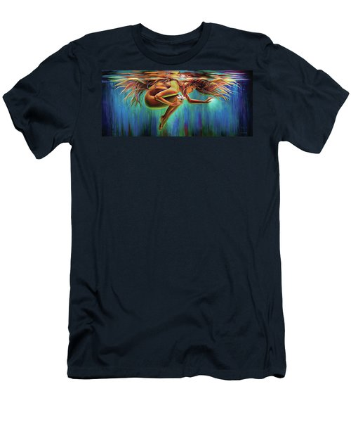 Aquarian Rebirth Men's T-Shirt (Athletic Fit)