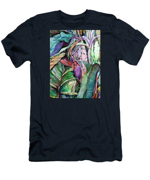 Banana Pod Men's T-Shirt (Slim Fit) by Mindy Newman