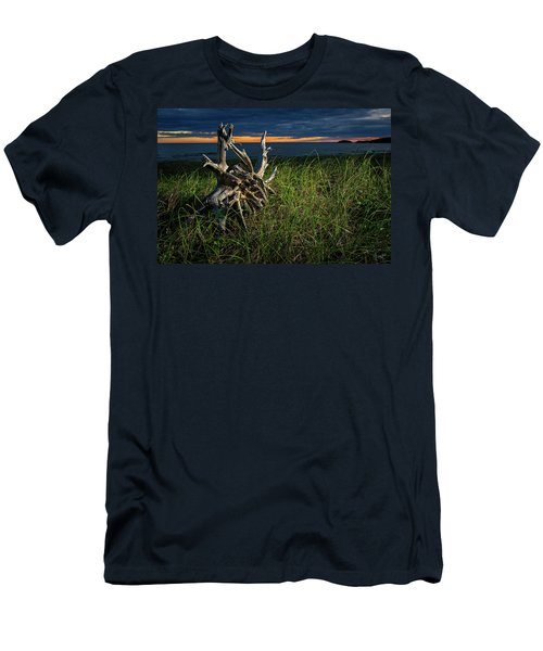 Men's T-Shirt (Athletic Fit) featuring the photograph Beached II by Doug Gibbons