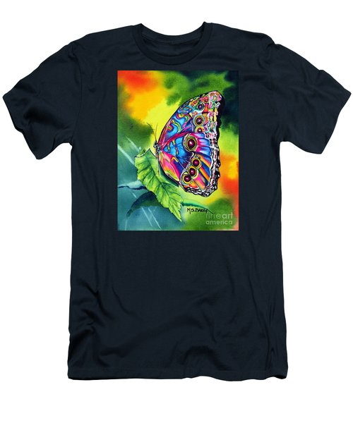 Beatrice Butterfly Men's T-Shirt (Slim Fit) by Maria Barry