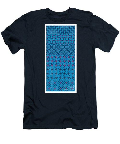 Bibi Khanum Ds Patterns No.7 Men's T-Shirt (Athletic Fit)
