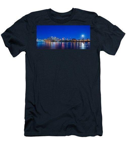Canary Wharf 3 Men's T-Shirt (Slim Fit) by Mariusz Czajkowski