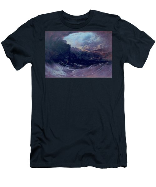 Christ Stilleth The Tempest Men's T-Shirt (Athletic Fit)