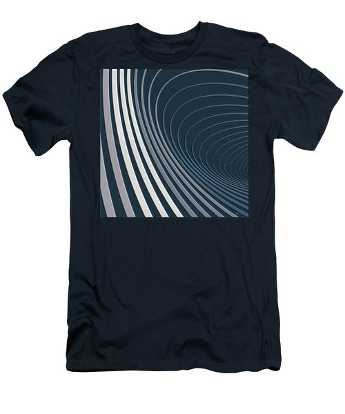 Color Harmonies - Mountain Mist Men's T-Shirt (Athletic Fit)