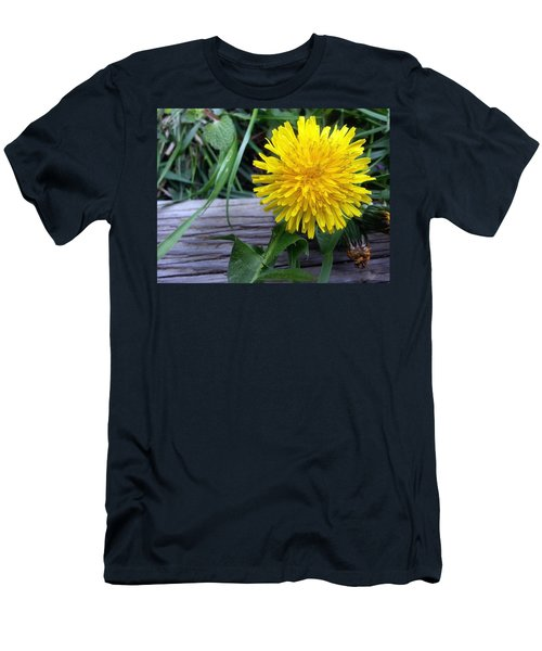 Men's T-Shirt (Athletic Fit) featuring the photograph Dandelion by Robert Knight