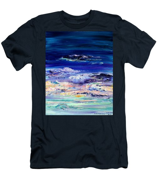 Dusk Imagining Men's T-Shirt (Slim Fit) by Regina Valluzzi