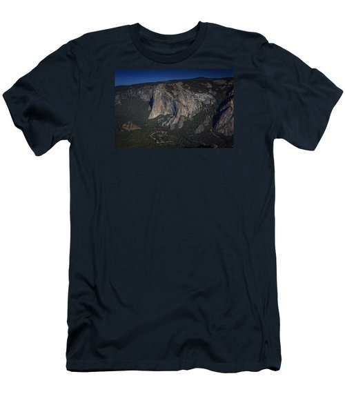 El Capitan  Men's T-Shirt (Slim Fit) by Rick Berk