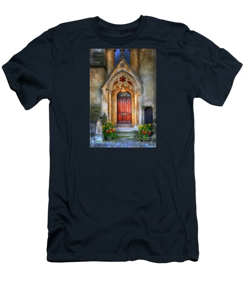 Evensong Men's T-Shirt (Slim Fit) by Lois Bryan