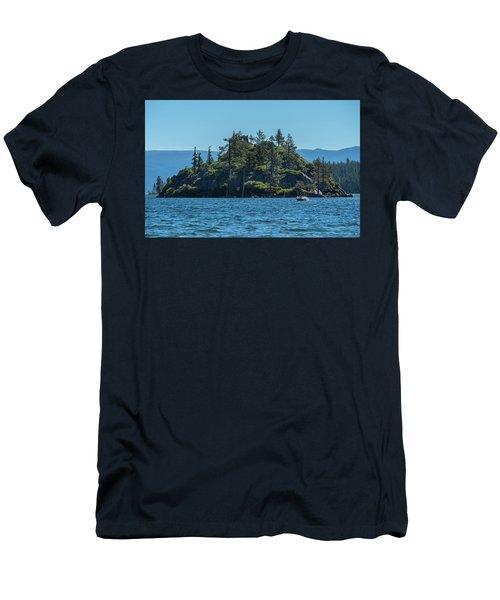 Fannette Island Men's T-Shirt (Athletic Fit)