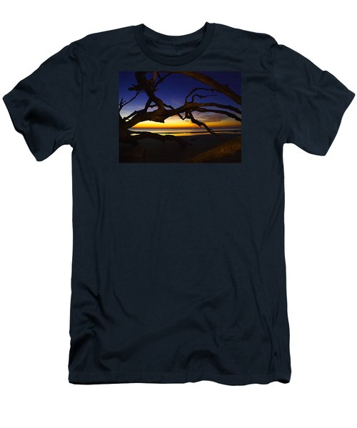Men's T-Shirt (Slim Fit) featuring the photograph Golden Moments by Laura Ragland