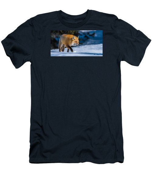 Men's T-Shirt (Slim Fit) featuring the photograph Handsome Mr. Fox by Yeates Photography