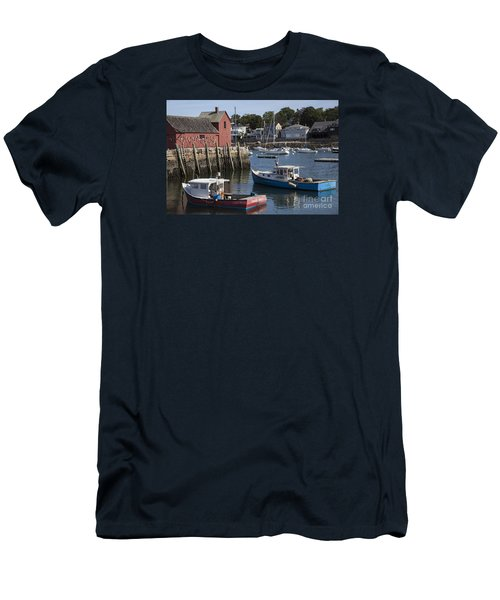 Harbor Boats Men's T-Shirt (Athletic Fit)