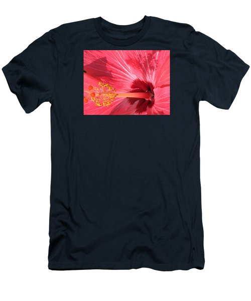 Men's T-Shirt (Slim Fit) featuring the photograph Hibiscus by Kay Gilley