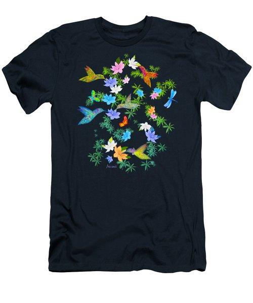 Hummingbird Spring Men's T-Shirt (Athletic Fit)
