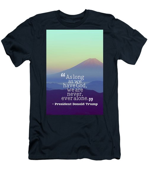 Inspirational Timeless Quotes - President Donald Trump Men's T-Shirt (Athletic Fit)
