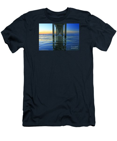La Jolla Blue  Men's T-Shirt (Athletic Fit)