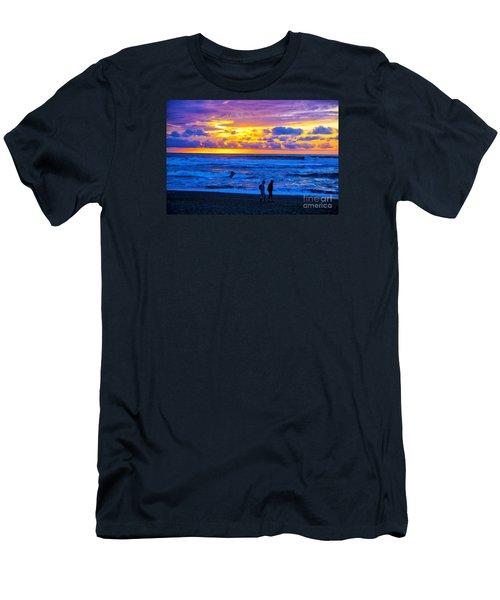 Men's T-Shirt (Slim Fit) featuring the photograph Last Light by Rick Bragan