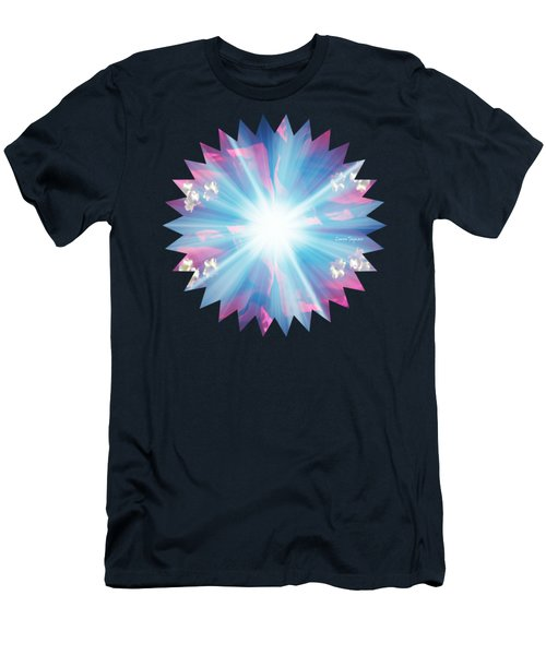 Let There Be Light Men's T-Shirt (Slim Fit) by Leanne Seymour