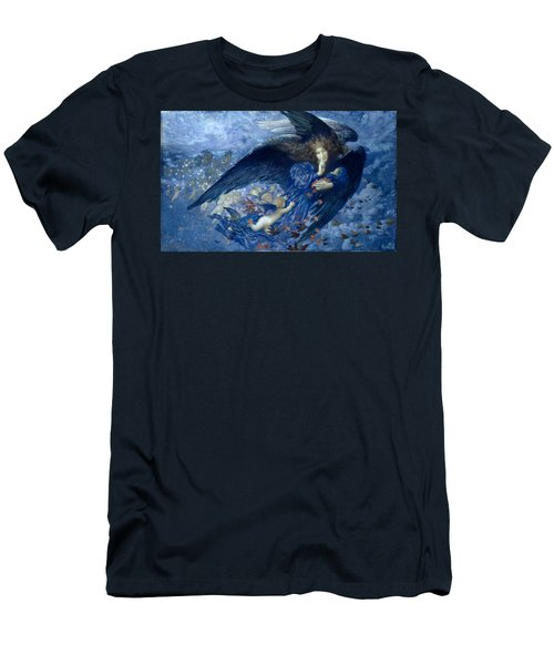 Night With Her Train Of Stars Men's T-Shirt (Athletic Fit)