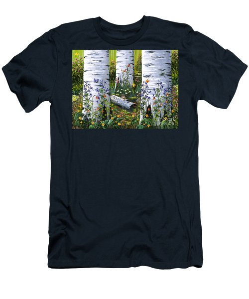 Old Aspen Grove Men's T-Shirt (Athletic Fit)