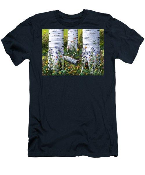 Old Aspen Grove Men's T-Shirt (Athletic Fit)