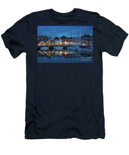 Men's T-Shirt (Slim Fit) featuring the photograph Padstow Evening by Brian Jannsen