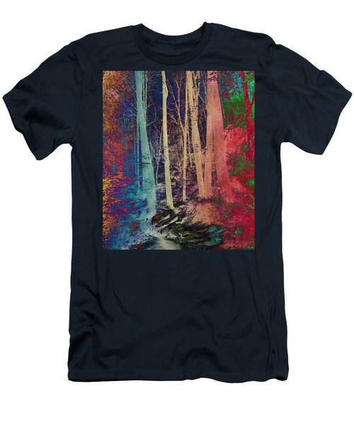 Men's T-Shirt (Athletic Fit) featuring the photograph Path by Marianna Mills