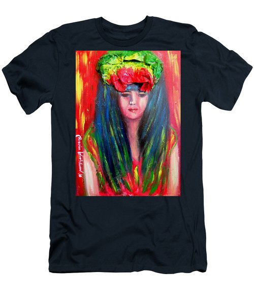 Rasta Girl Men's T-Shirt (Athletic Fit)