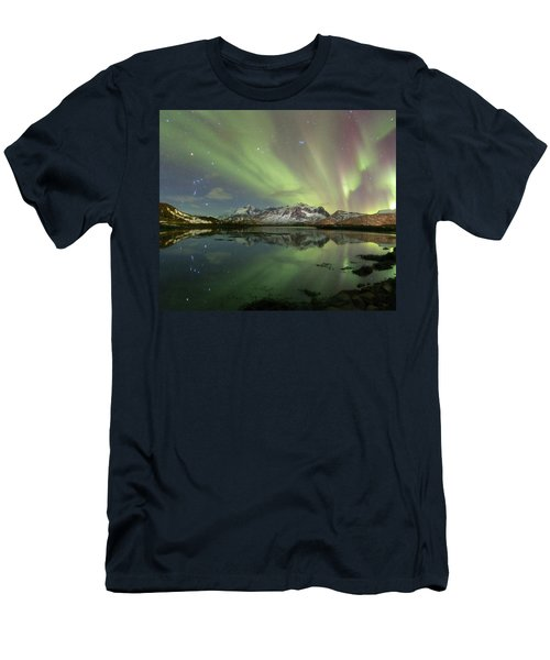 Reflected Lights Men's T-Shirt (Athletic Fit)