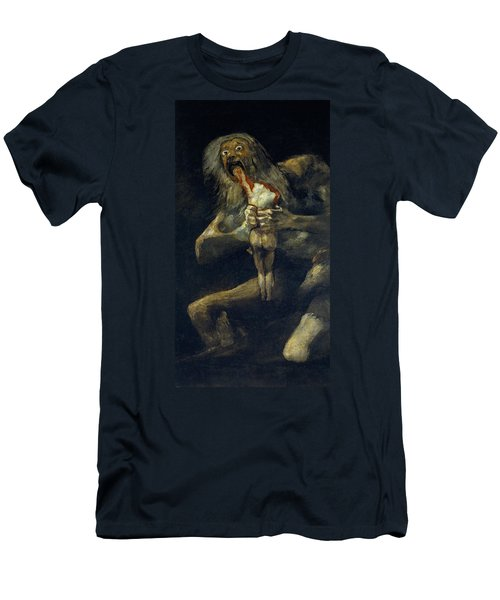 Saturn Devouring His Son Men's T-Shirt (Athletic Fit)