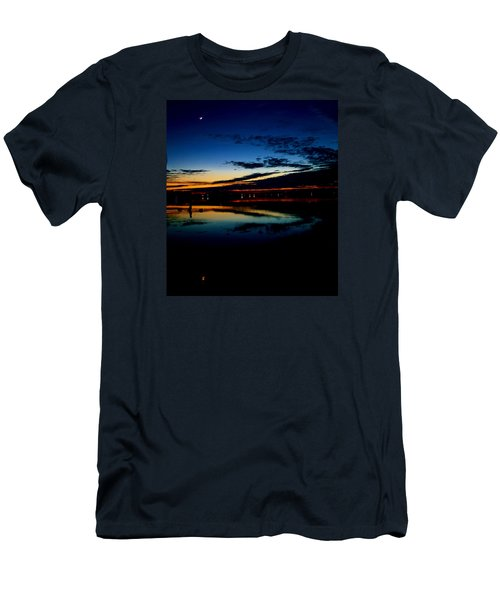 Shades Of Calm Men's T-Shirt (Slim Fit) by William Bartholomew