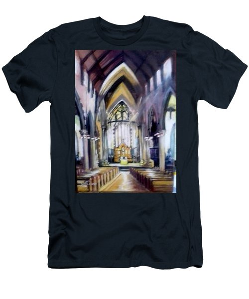 St Johns Cathedral Limerick Ireland Men's T-Shirt (Athletic Fit)
