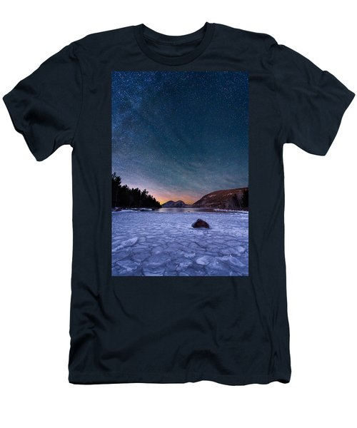 Stars On Ice Men's T-Shirt (Athletic Fit)