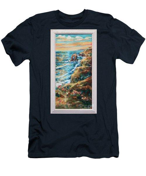 Sunset Cliffs Men's T-Shirt (Athletic Fit)