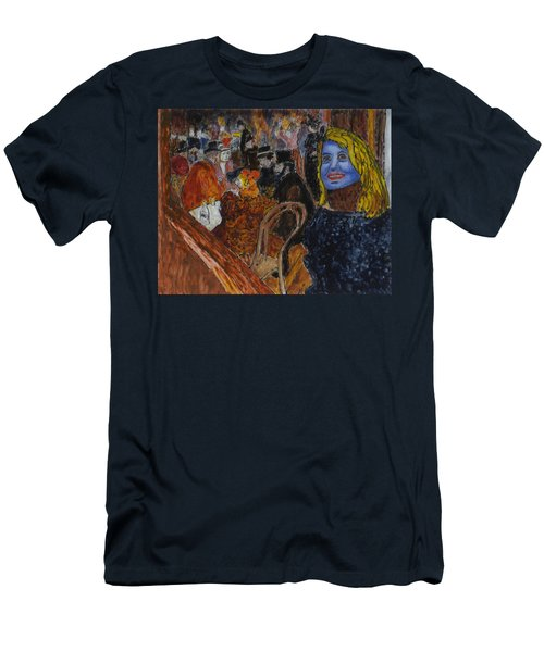 Susan Lautrec Men's T-Shirt (Slim Fit) by Phil Strang